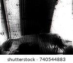 Ghost Or Skeleton Image Blur...