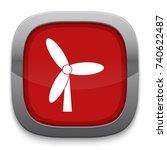wind energy icon | Shutterstock .eps vector #740622487