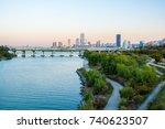 seoul  south korea  november...   Shutterstock . vector #740623507