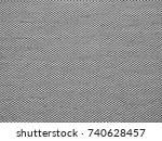 black and white tile roof... | Shutterstock . vector #740628457