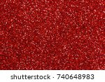 Red Glitter Texture Background
