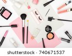 set of professional decorative... | Shutterstock . vector #740671537