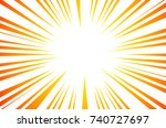 sun rays or explosion boom for... | Shutterstock . vector #740727697