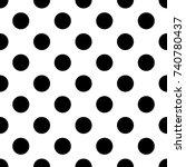 white seamless texture. vector... | Shutterstock .eps vector #740780437