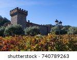 napa valley  california  ...   Shutterstock . vector #740789263
