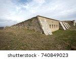 cimpe castle bolayir gallipoli  ... | Shutterstock . vector #740849023