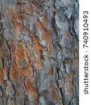 old rough tree bark texture  ... | Shutterstock . vector #740910493