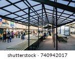 riga  latvia october 23  2017...   Shutterstock . vector #740942017