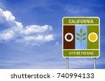 fresno   california   Shutterstock . vector #740994133