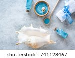 Sea Cosmetics And Shell From...