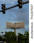 Small photo of Outdoor advertising billboard