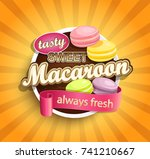 symbol of sweet  always fresh... | Shutterstock .eps vector #741210667