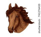horse head or wild brown