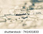 Small photo of Heimdal on map.