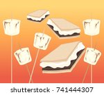 a vector illustration in eps 10 ... | Shutterstock .eps vector #741444307