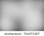 modern halftone background.... | Shutterstock .eps vector #741471307