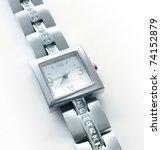 Elegant Women's Luxury Silver...