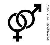 gender sign   Shutterstock .eps vector #741529417