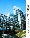 industrial zone  steel... | Shutterstock . vector #74153167