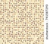 beautiful geometric pattern... | Shutterstock .eps vector #741587293