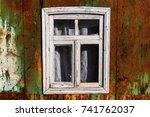 abstract rusty metal texture ... | Shutterstock . vector #741762037