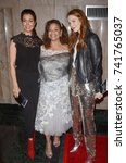 """Small photo of LOS ANGELES - OCT 15: Bellamy Young, Debbie Allen ,Darby Stanchfield at the """"Turn Me Loose"""" at the Wallis Annenberg Center for the Performing Arts on October 15, 2017 in Beverly Hills, CA"""