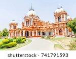 noor mahal  bahawalpur  pakistan | Shutterstock . vector #741791593