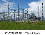 russia  perm   june 12  2015 ... | Shutterstock . vector #741814123