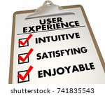 user experience checklist...