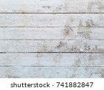 vertical wood wall texture and... | Shutterstock . vector #741882847