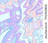 geometric pattern background.   Shutterstock .eps vector #741965803