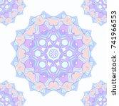 seamless pattern background...   Shutterstock .eps vector #741966553