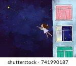 graphic illustration digital...   Shutterstock . vector #741990187