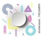modern circular vector...