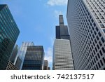 chicago  illinois   july 15 ... | Shutterstock . vector #742137517