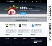 web design website elements... | Shutterstock .eps vector #74223208