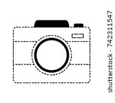 photographic camera icon | Shutterstock .eps vector #742311547