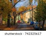 tartu  estonia   october 19 ...   Shutterstock . vector #742325617