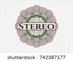green and red money style...   Shutterstock .eps vector #742387177
