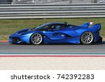 mugello  italy   october 26 ... | Shutterstock . vector #742392283