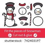 vector illustration  education... | Shutterstock .eps vector #742403197