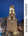 canakkale clock tower  the...   Shutterstock . vector #742455043
