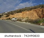 paphos  cyprus   february 14... | Shutterstock . vector #742490833