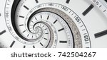 Modern Diamond White Clock...