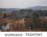 border between poland and...   Shutterstock . vector #742547047