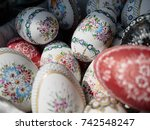 full background of colorful ... | Shutterstock . vector #742548247