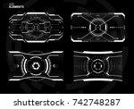 sci fi futuristic screen design ...