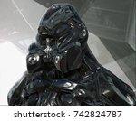 3d rendering of imaginative... | Shutterstock . vector #742824787