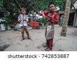 bintan  indonesia   20th...   Shutterstock . vector #742853887
