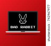 vector illustration of the bad... | Shutterstock .eps vector #742967977